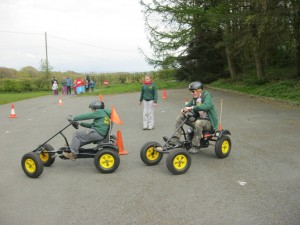 5th Hyde Scouts race pedal carts at Group Camp 2012