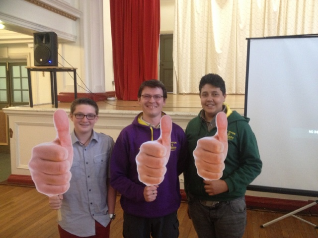 5th Hyde Scouts at the Hyde YouChoose grants 2013 by Tameside Council